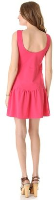 RED Valentino Scalloped Jersey Dress