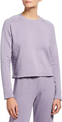Monrow Super Soft Fleece Lounge Sweatshirt