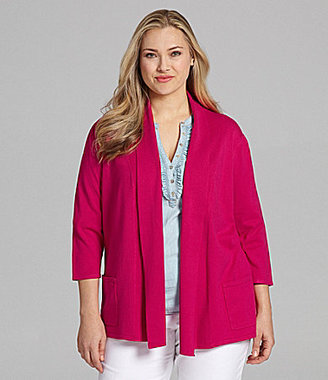Leo & Nicole Woman Open Cardigan