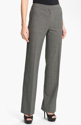 Lafayette 148 New York Crosshatch Suiting Menswear Pants