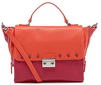 Kate Landry Soho Stud Top Handle Satchel Bag