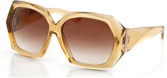 Swarovski Be My Lady Nude Sunglasses