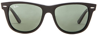 Ray-Ban Oversized Original Wayfarer in Black.
