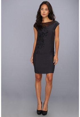 Elie Tahari Darlene Dress (Shaded Spruce) - Apparel