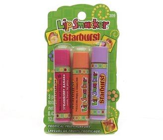 Bonne Bell Lip Smacker Starburst Candy Flavor Lipgloss Tropical Fruit Flavors, 3 pk