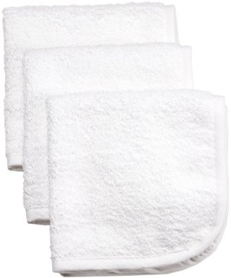 American Baby Company White Washcloths (3-Pack)