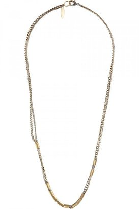 Candace Golden Tunnel Necklace