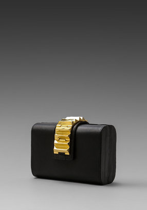 CC Skye The Promoter Clutch in Black/Gold