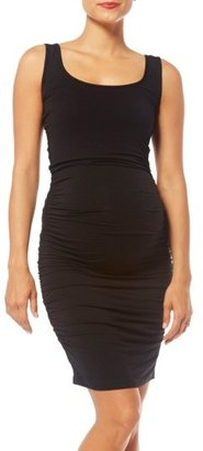 Women's Nom Maternity 'Stella' Striped Jersey Maternity Dress $84 thestylecure.com