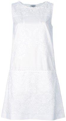 Philosophy di Alberta Ferretti embroidered sleeveless shift dress