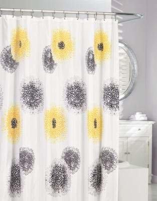 Moda Blossom Fabric Shower Curtain