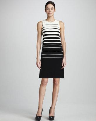 Adrienne Vittadini Striped Tank Dress