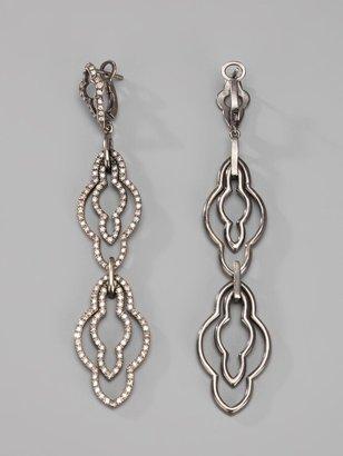 Loree Rodkin Drop Diamond Earrings