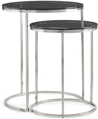 JCPenney Knox Glass Top 2-pc. Nesting Side Tables