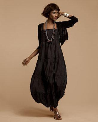 Eileen Fisher Tiered Silk Dress, Women's