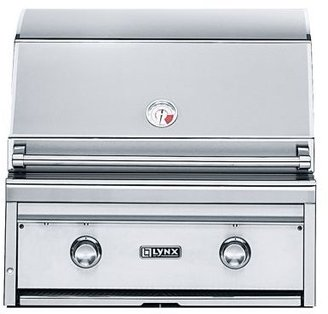 Sur La Table Lynx® Built-in Liquid Propane Grills with ProSear Burners and Rotisseries