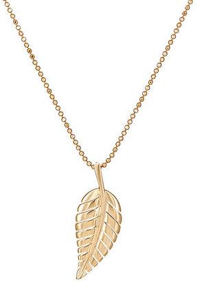 Jennifer Meyer Women's Leaf Pendant Necklace