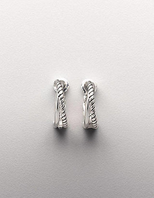 Lord & Taylor Sterling Silver Small Hoop Earrings