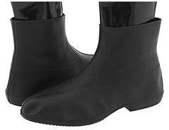 Tingley Overshoes Half Zipper Boot (Black) - Footwear
