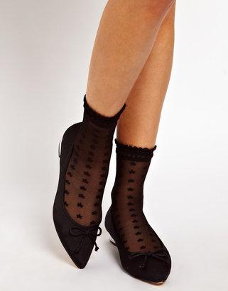 Asos Socks With Star Print