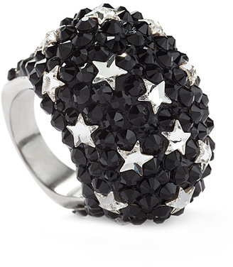Jimmy Crystal New York Evening Star Statement Ring