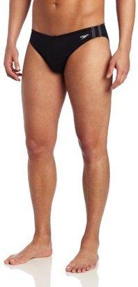 Speedo Men's Shoreline 1 Inch Xtra Life Lycra Fashion Brief Swimsuit