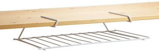 Container Store Undershelf Placemat Holder White