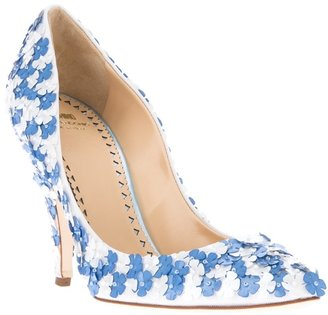 Moschino Cheap & Chic sequin embellished pump