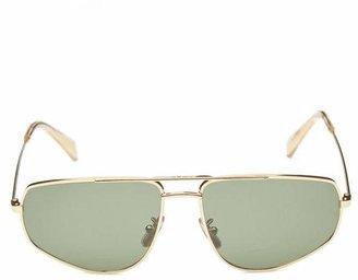 Celine Aviator-Style Metal Sunglasses