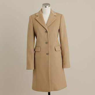 J.Crew Wool-cashmere plaza coat