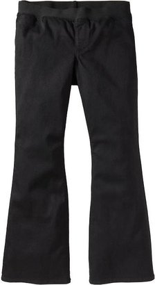 Old Navy Women's Plus Elastic-Waist Flare Jeans