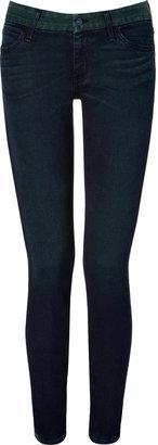Koral Forest/Black Colorblock Overdye Jeans