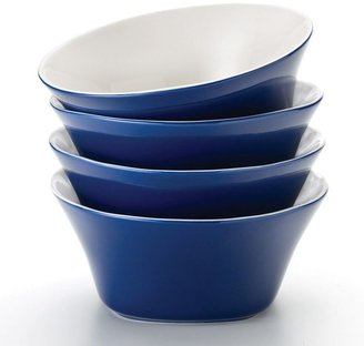 Rachael Ray round & square blue 4-pc. cereal bowl set