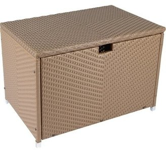 Tortuga Outdoor Stonewick Resin Deck Box Outdoor