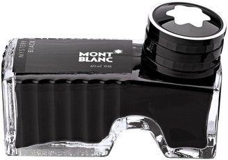 Montblanc Ink Bottle for Fountain Pen, Mystery Black, 60ml