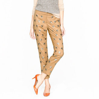 J.Crew Collection sequin bow pant