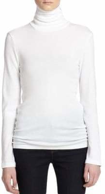 Splendid Women's Knit Turtleneck - White - Size XS