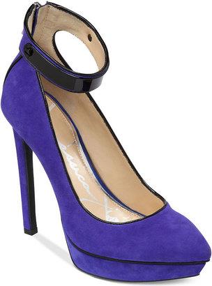 Jessica Simpson Voilla Ankle Strap Platform Pumps