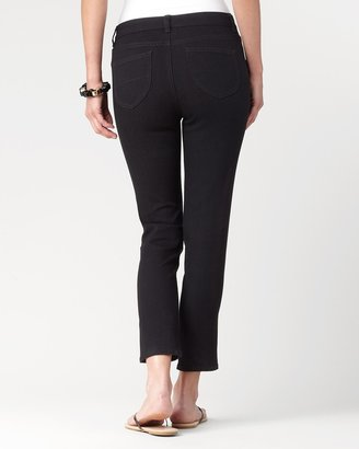 Coldwater Creek Natural denim ankle jeans