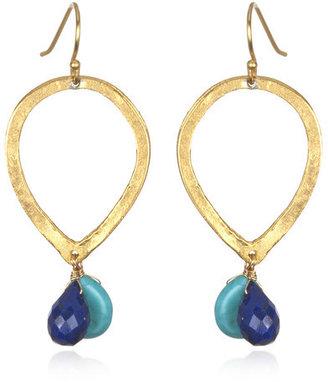 Wendy Mink Reverse Teardrop Earrings