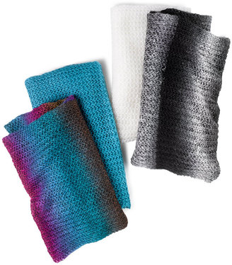 David & Young Scarf, Infinity Loop Set of Ombré & Solid Two