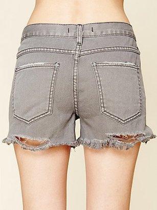 Free People FP Denim Cut Off Shorts