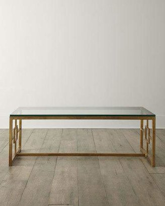 Interlude Home Glass-Top Coffee Table