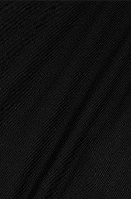 Commando Stretch Thong - Black