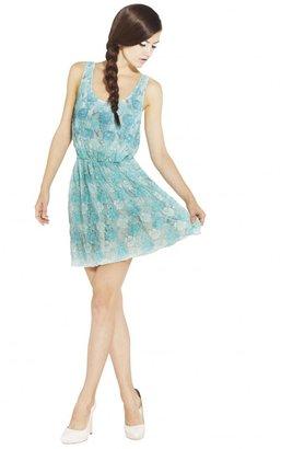 Alice + Olivia Gabby Beaded Lace Tank Dress
