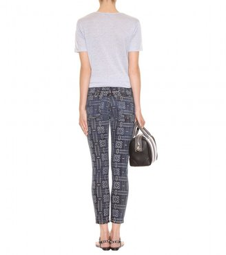 Current/Elliott The Stiletto Skinny printed jeans