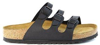 Birkenstock Women's Florida Soft Footbed Sandal,Black Birko-Flor,38 EU/7 B(M) US Women/ 6 D Men's US