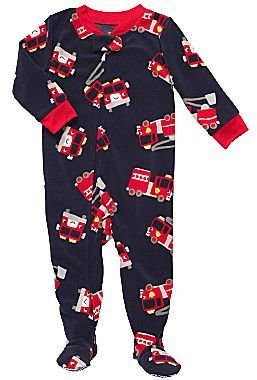 Carter's Fire Engine Footed Pajamas – Boys 2t-4t