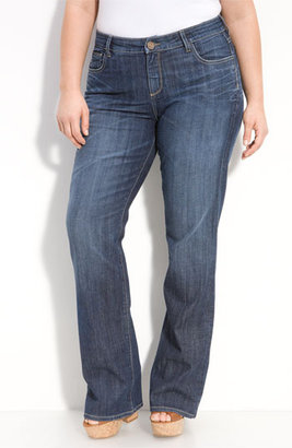 KUT from the Kloth Bootcut Jeans (Plus Size)