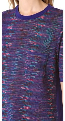 M Missoni Mixed Media Tee